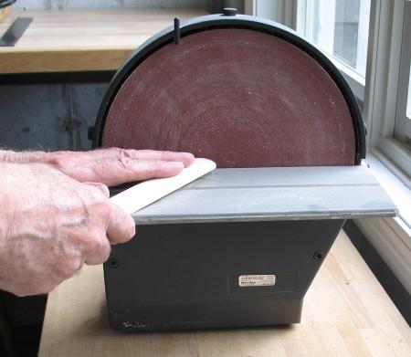sanding-disk