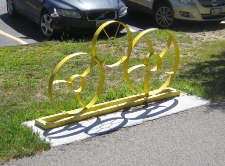 Industrial Bike Rack