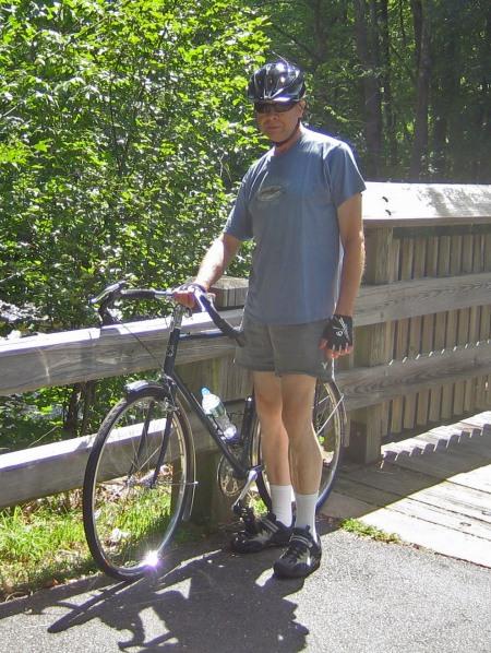 Wes at Farmington River