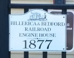 B&B Engine House Sign