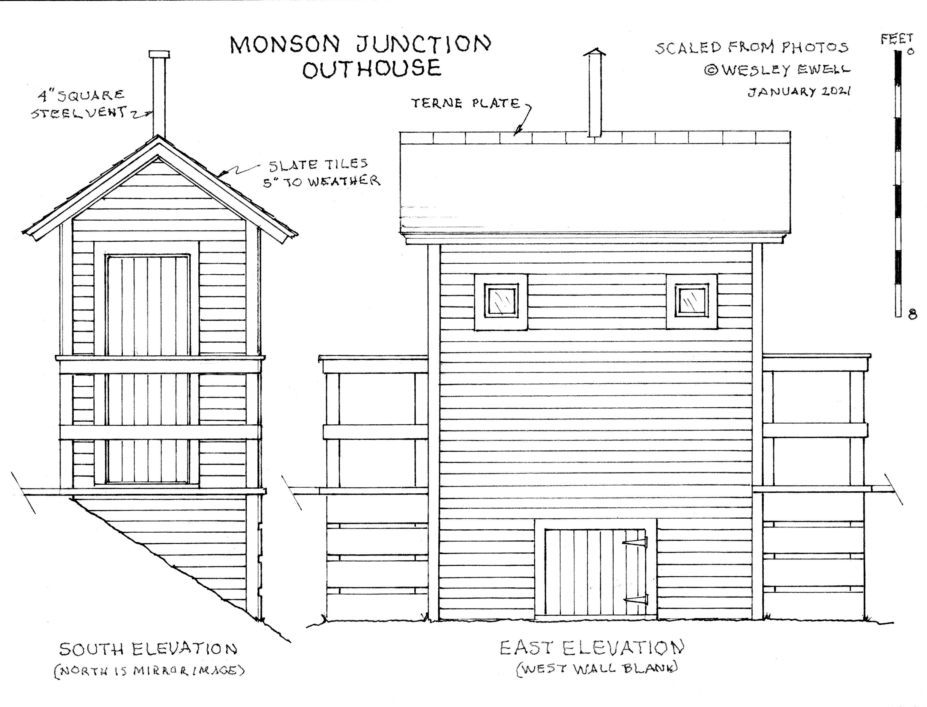 Monson Junction Outhouse